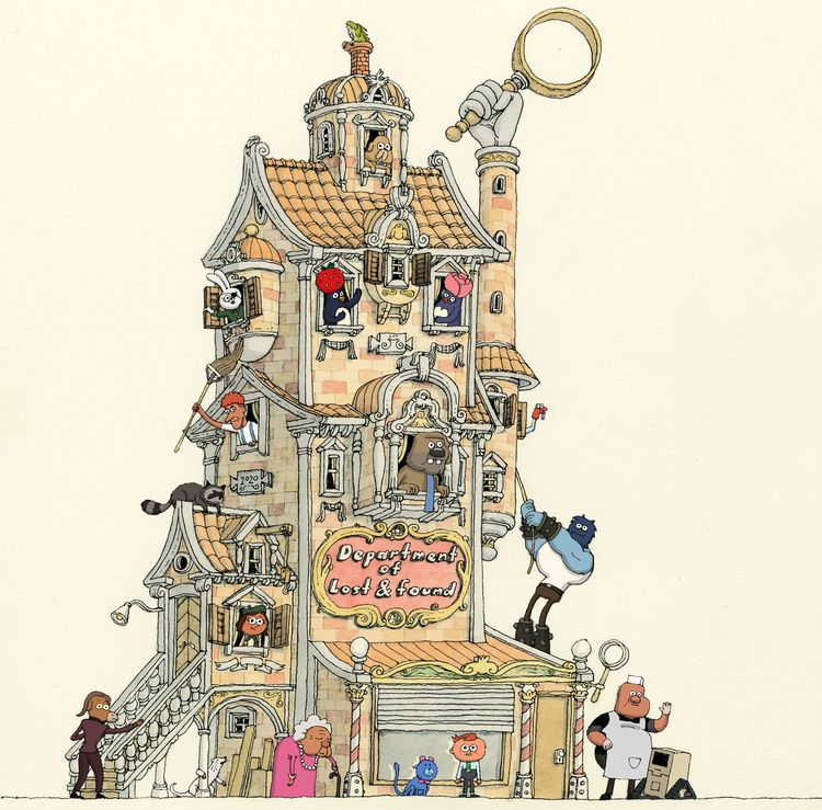 Department Lost CartoonNetwork - mattiasadolfsson | ello