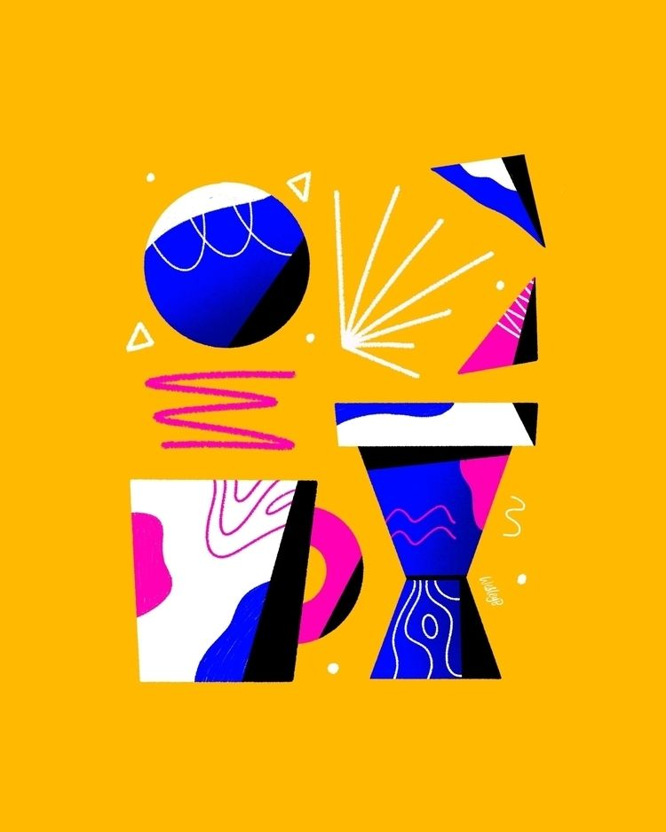 abstraction. Instagram Website - wesleybarnes_ | ello