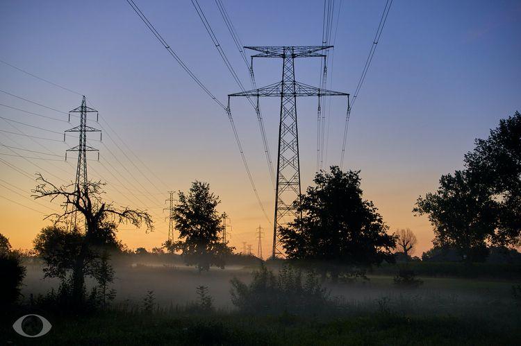Mist blue hour. advantages earl - pentaxke | ello
