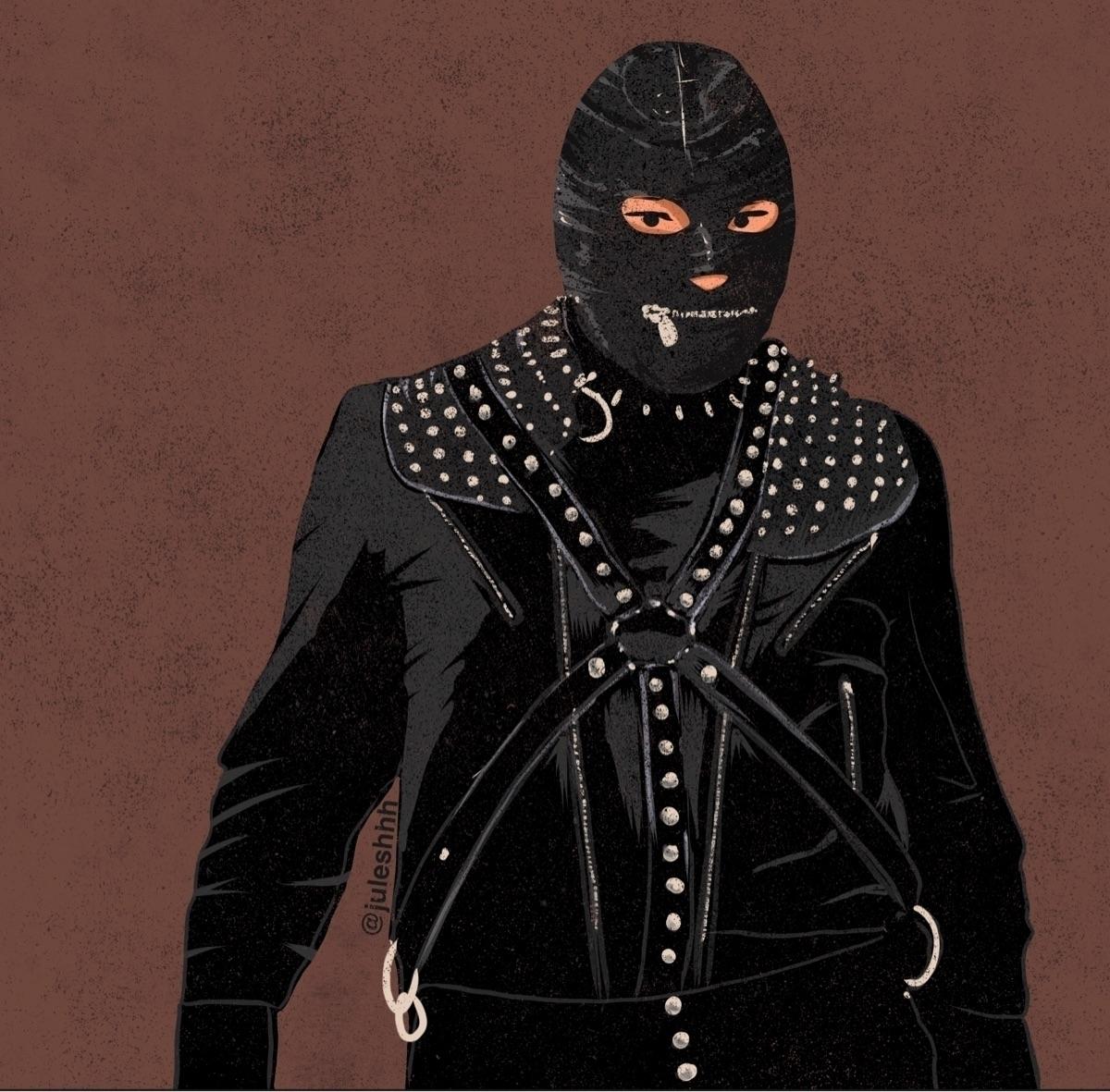 Stay safe, stay - bring gimp - illustration - julianhenderson | ello
