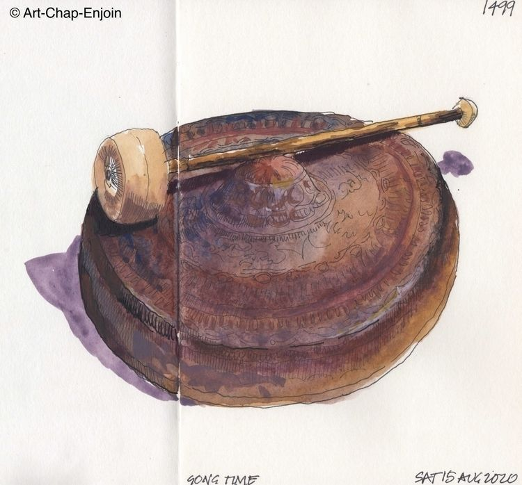 1499 - Gong time gong bought Bh - artchapenjoin | ello
