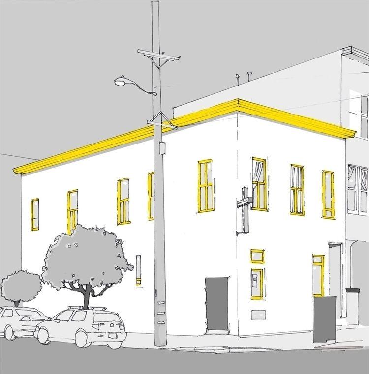 Fillmore Street - sketching, drawing - jenniferdowland | ello