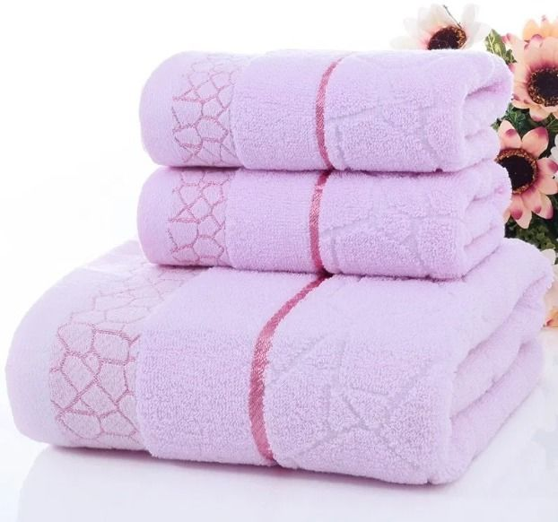 100% cotton Towels Set 2pcs fac - wankae | ello
