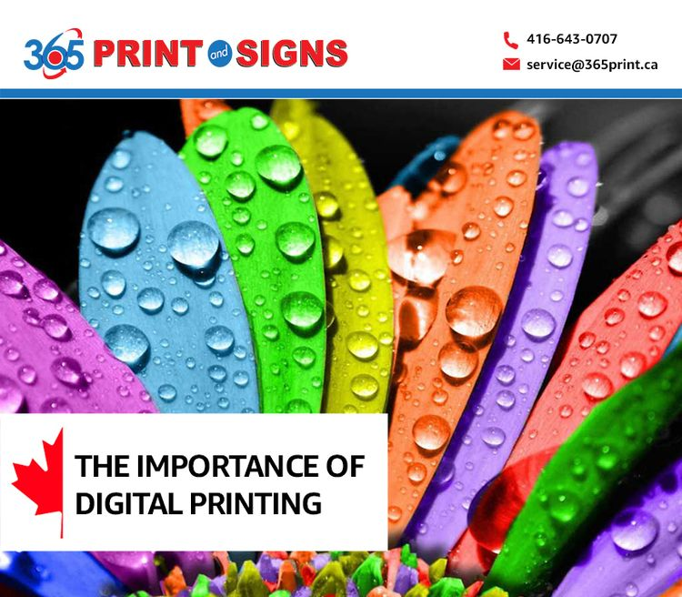 importance Digital printing, in - printandsigns | ello