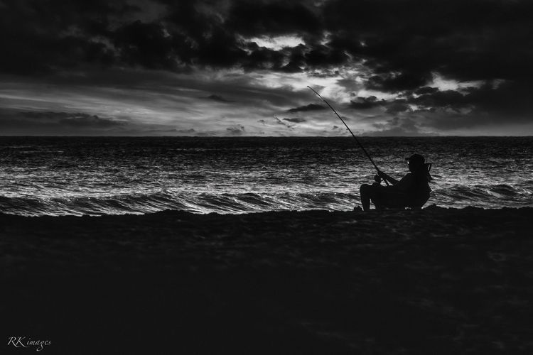 landscape, seascape, monochrome - richiekidd | ello