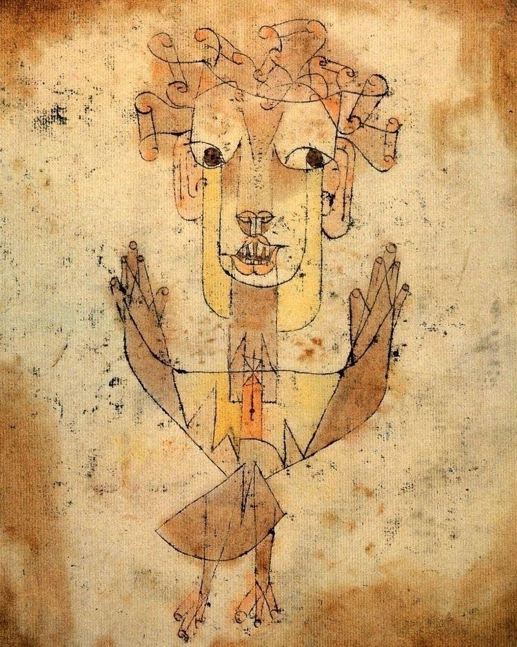 Klee painting named Angelus Nov - jingology | ello