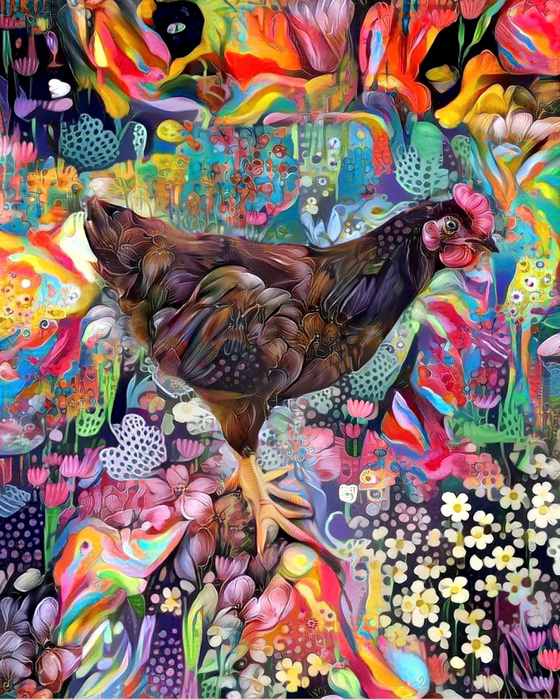 Psychedelic chicken elements co - kenlong | ello