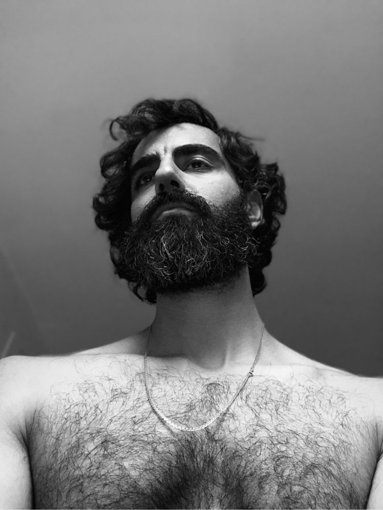 Mood day - godess, hairy, hairychest - ajameel | ello