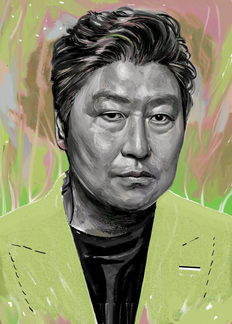 SONG KANG-HO - art, arte, artinfo - ciaran_illustration   ello