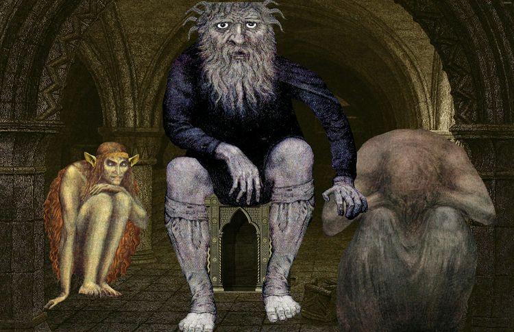 giants walked earth - sindhoorella   ello