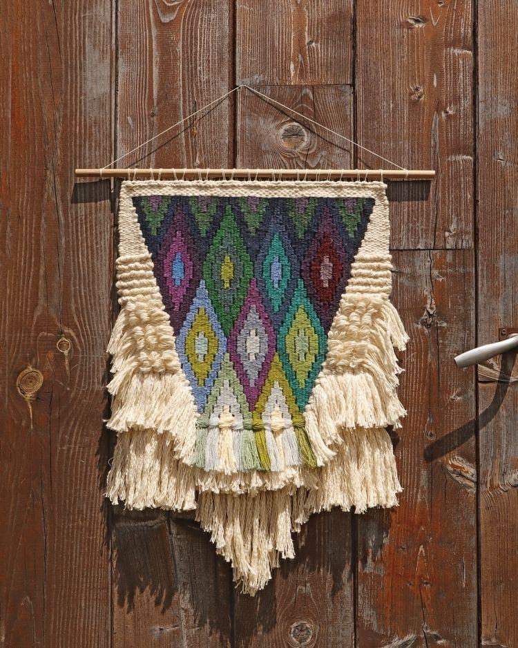 weaving, wovenwallhanging, wovenwallart - joona_tissages | ello