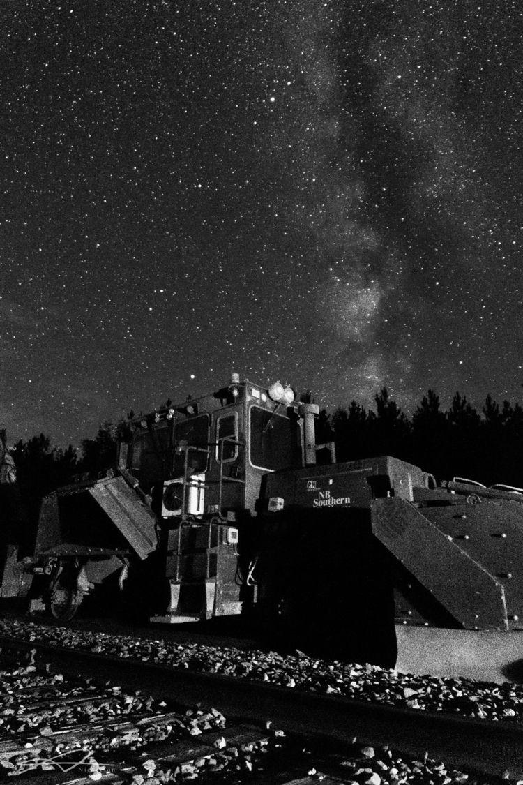 Milky train tracks - dananickerson   ello