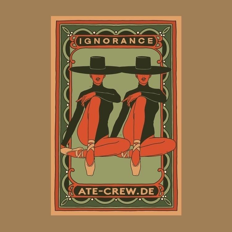 IGNORANCE - ate, atecrew, illustration - sidas_ate | ello