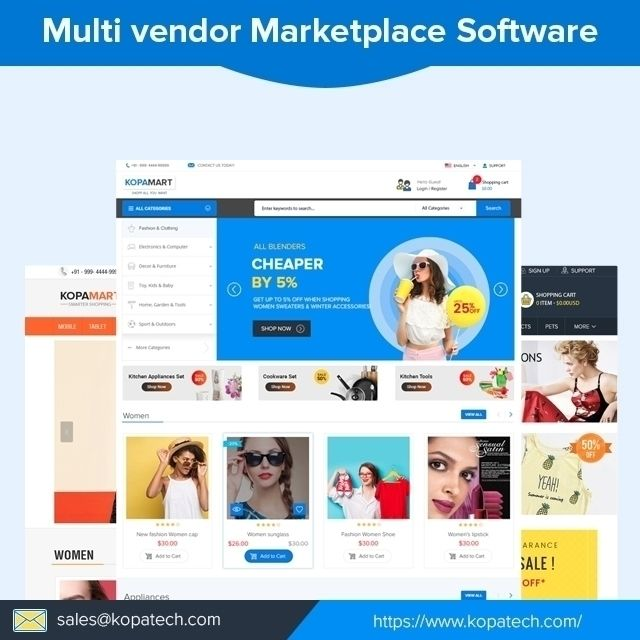 Multi Vendor Marketplace Softwa - kopatech | ello