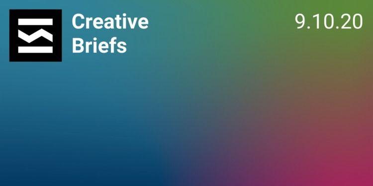 Creative Briefs Update 9/10/202 - elloblog | ello