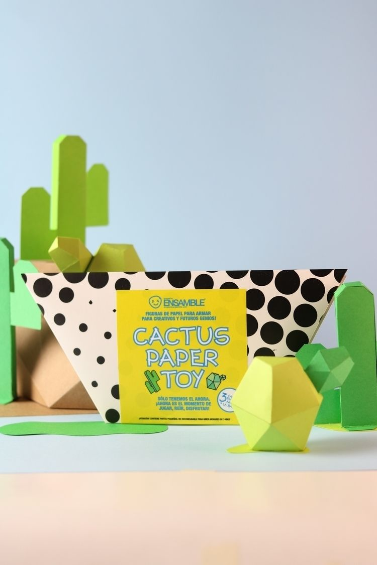 CACTUS PAPER TOY SERIES Fold pa - proyectoensamble | ello