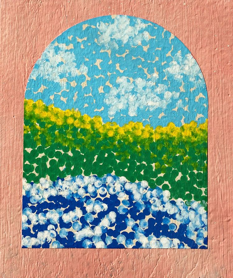 wistful window - art, landscape - terry_hearnshaw | ello