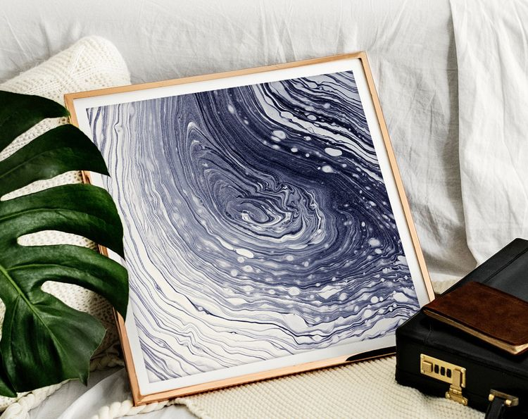 Space-Time Ripples Digital Prin - artswl | ello
