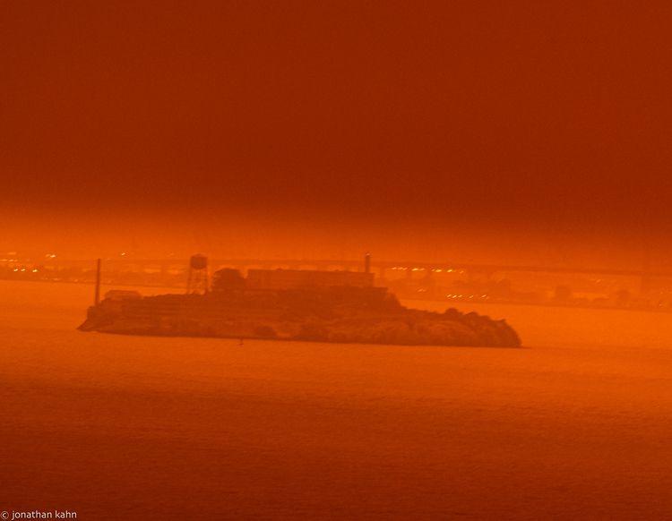 Alcatraz Orange San Francisco 1 - jonkahn | ello