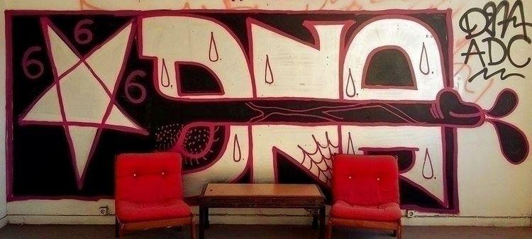 dna, athens, graffiti, 666 - dienay | ello