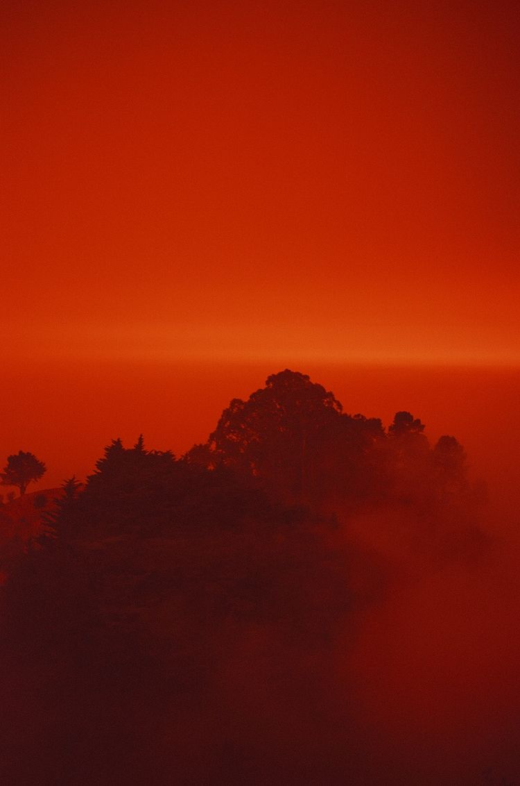 35mm, redsky#firesky, berkeleyhills - teetonka | ello