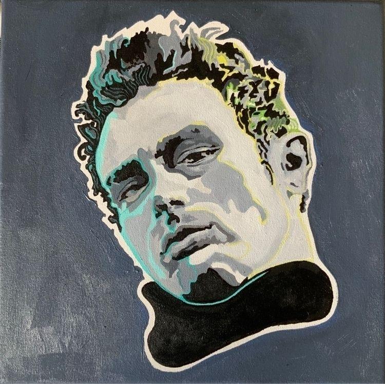 'Jimmy' (acrylic canvas) 2020 - x0ffender | ello