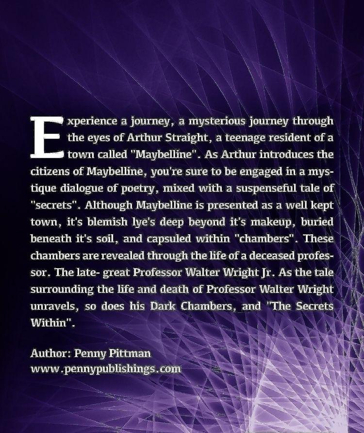 Dark Chambers Vol.1 Secrets Aut - pennypittmanllc | ello