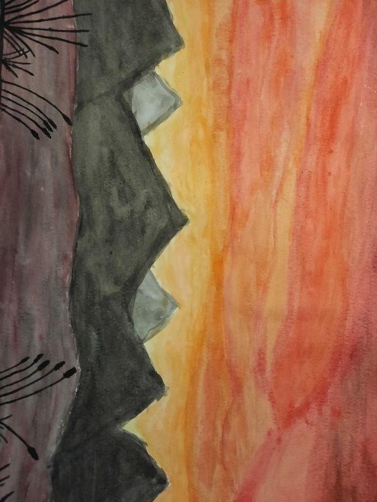 watercolor art Janai - julieflip   ello