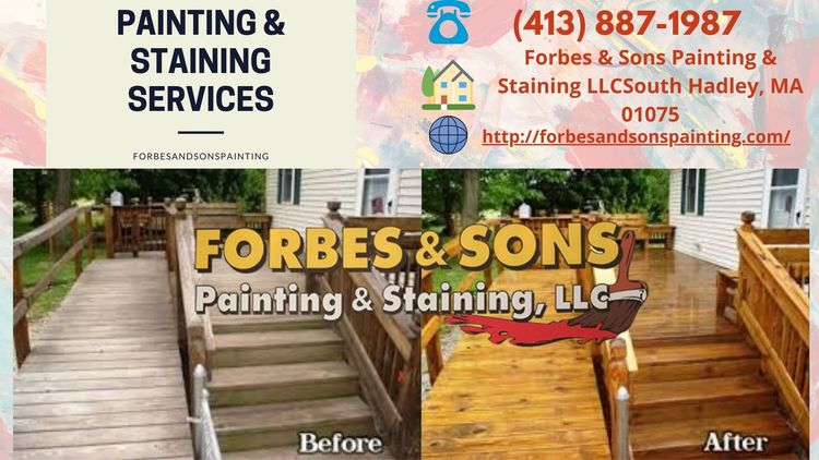 Staining Services USA   Deck Cl - forbesandsonspainting   ello