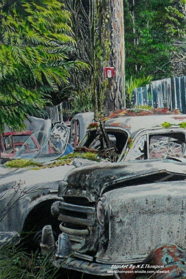 Days Desuetude SteelArt - art, realism - n_e_thompson | ello
