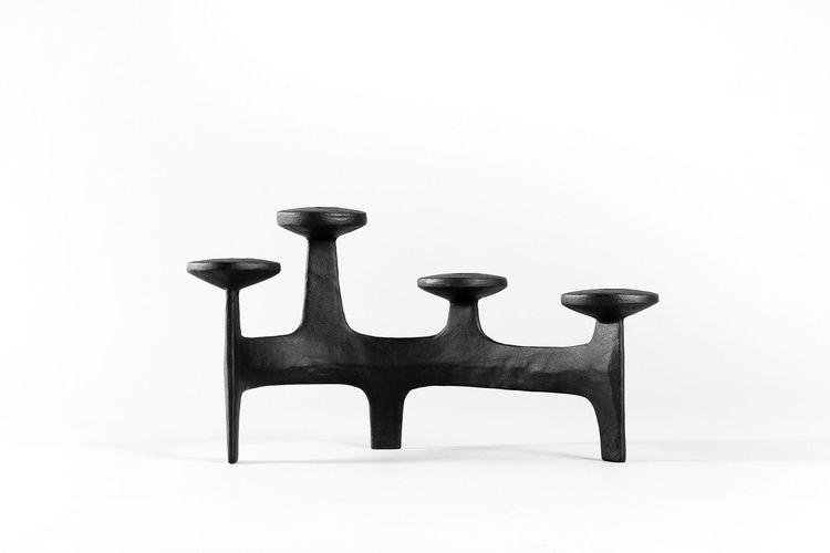 sculptural candelabra inspired  - gessato | ello