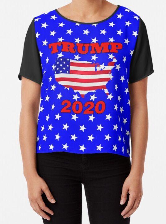Trump 2020 Stars Stripes Printe - pieterhb   ello