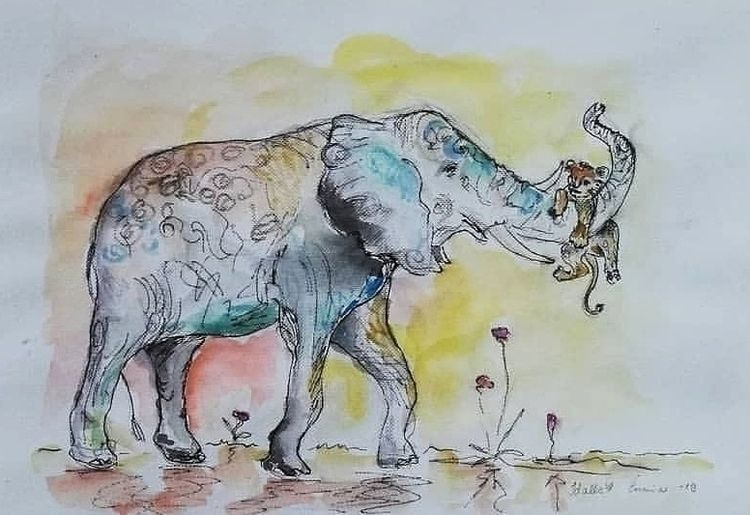 Supported Ink, Watercolors Colo - enniswan | ello