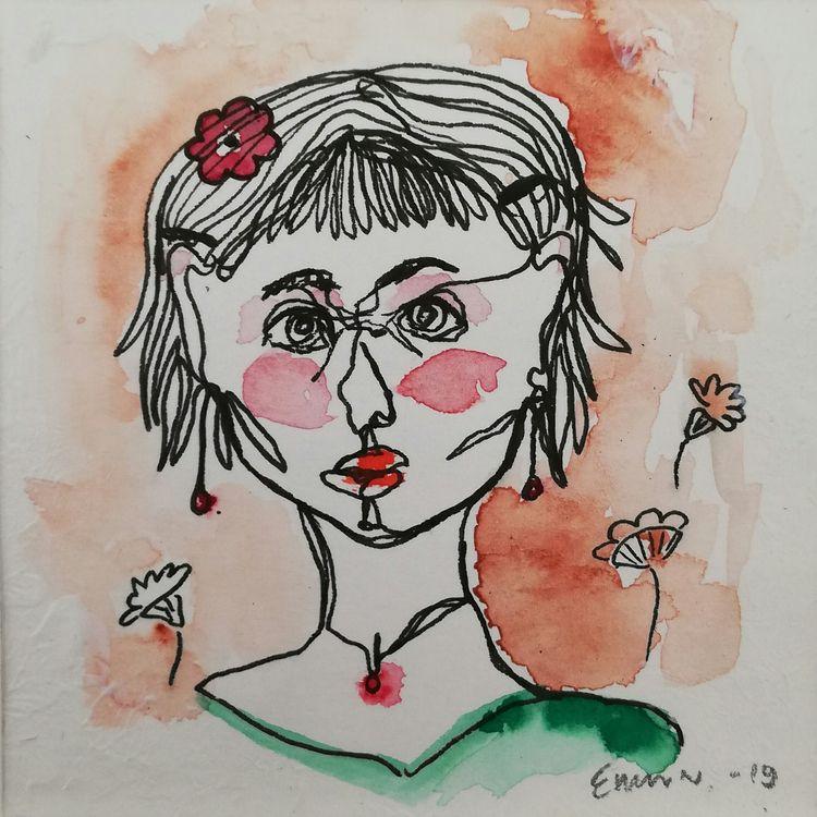 Girl Ink Watercolors 2019 priva - enniswan | ello