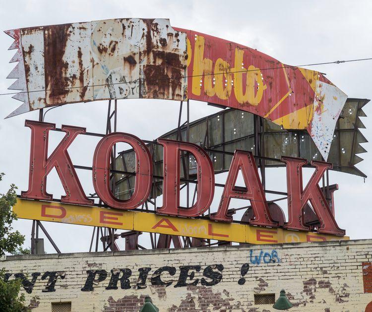 Kodak Dealer sign Atlanta, Geor - danielkrieger | ello