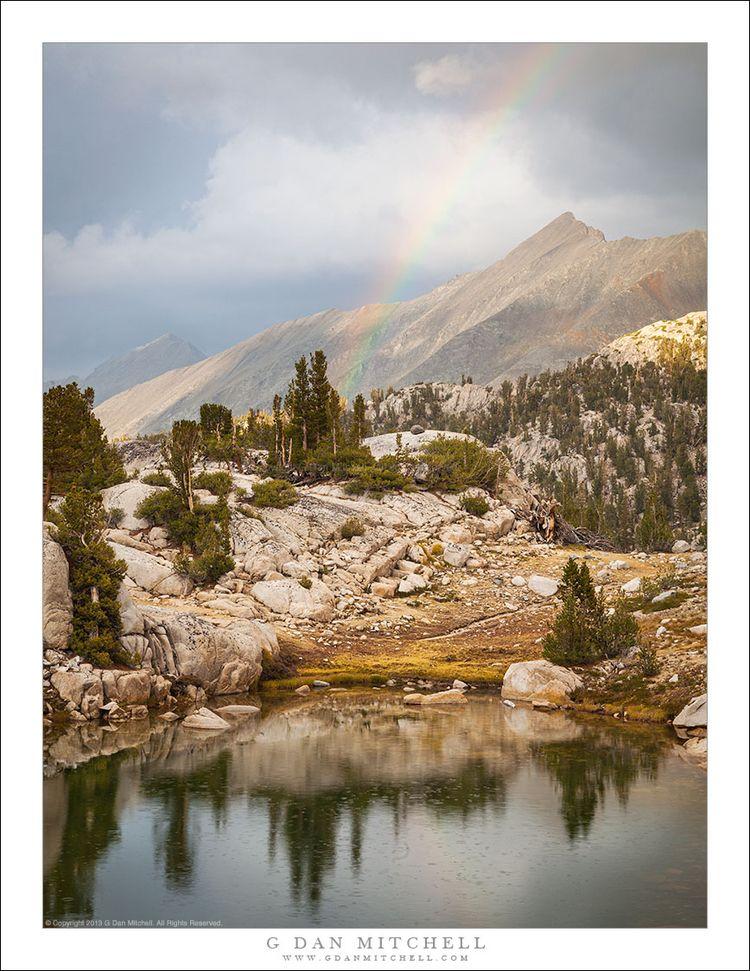 Alpine Lake, Storm, Rainbow. Co - gdanmitchell | ello