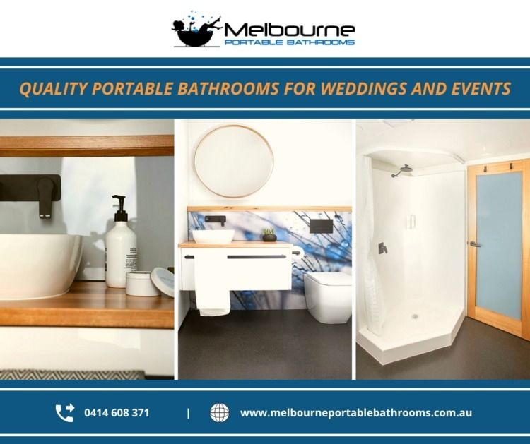 Quality Portable Bathrooms Wedd - melbourneportablebathrooms | ello