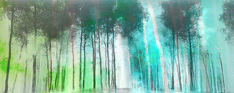 Silver forest - chriskeegan | ello
