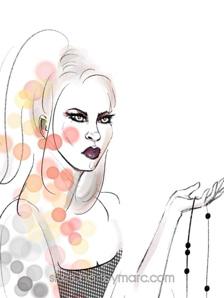 Minimal Loss - sketch, illustration - sketchartbymarc | ello