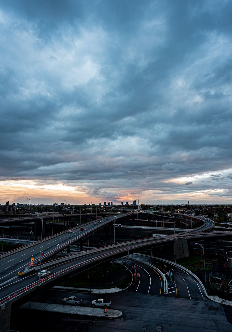 City Sunset Turcot Interchange - mark_shaar | ello