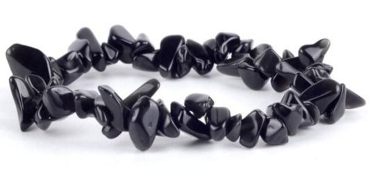 Buy Black Obsidian Wealth Brace - magic_crystals | ello