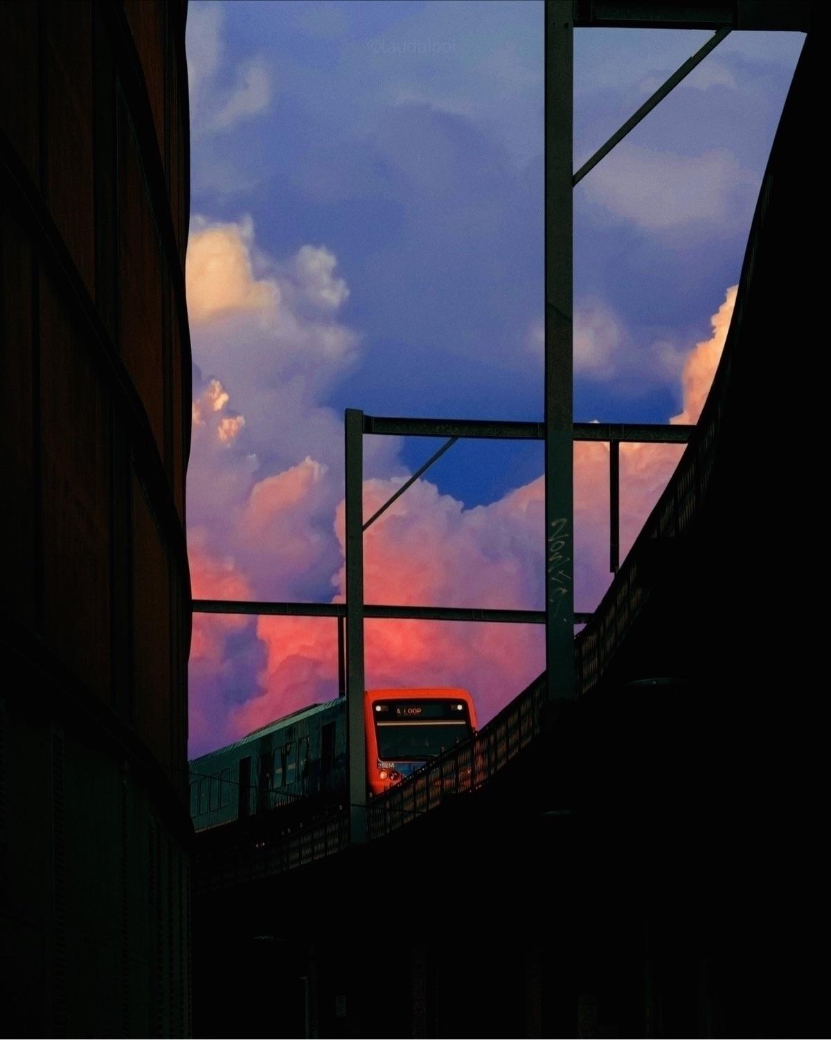 Cloud Train - taudalpoi | ello