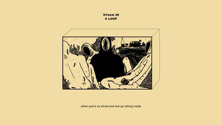 Art album: Stuck Loop - skatheartist   ello