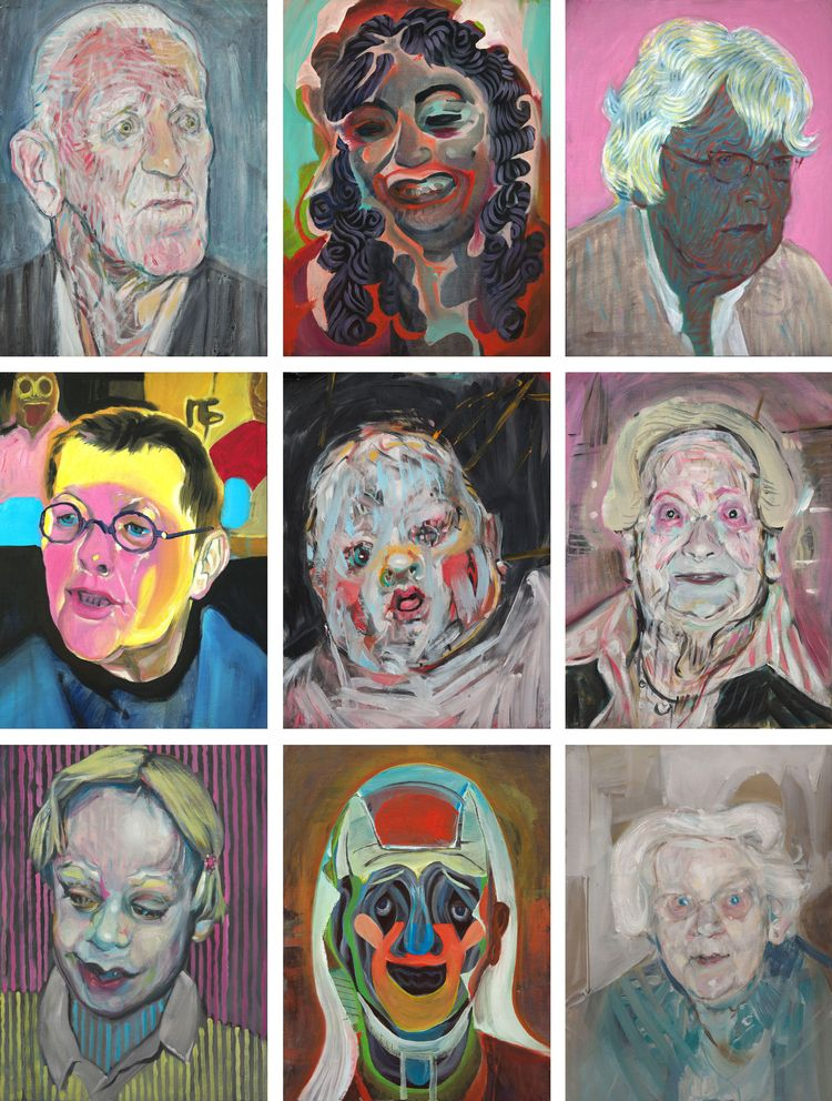 Legacy portrait series consists - rolandmaasvisualart | ello