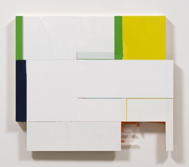 Untitled, 2020 Acrylic, paper,  - kazuhirohigashi   ello