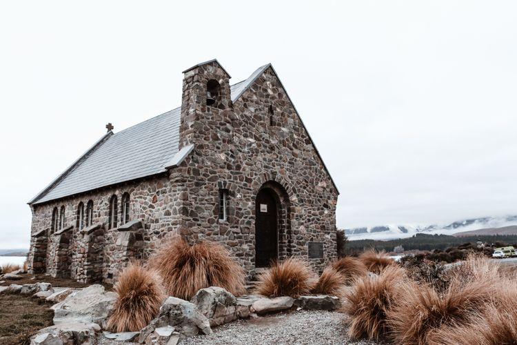 Church Good Shepard Zealand - indie_stones | ello