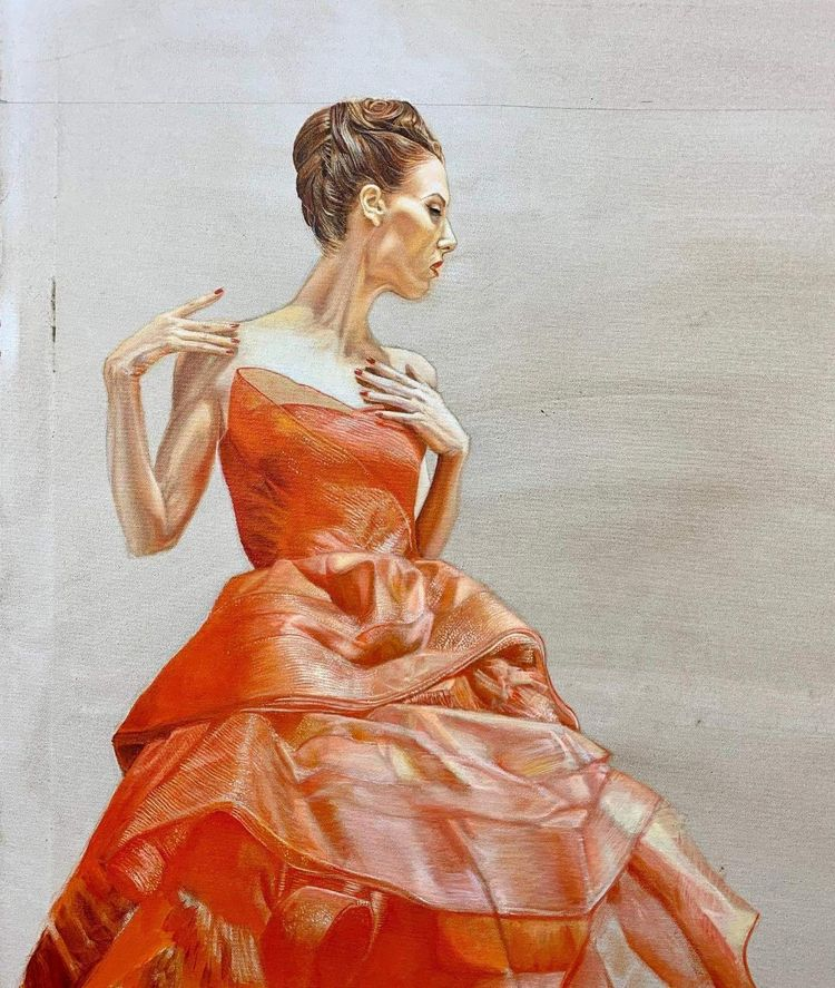 progress, Lady Fire David Marve - devengreen | ello