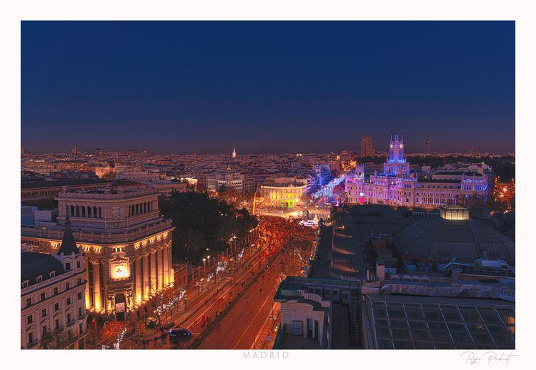 Night Madrid - Captured Nikon D - morpheus2004 | ello