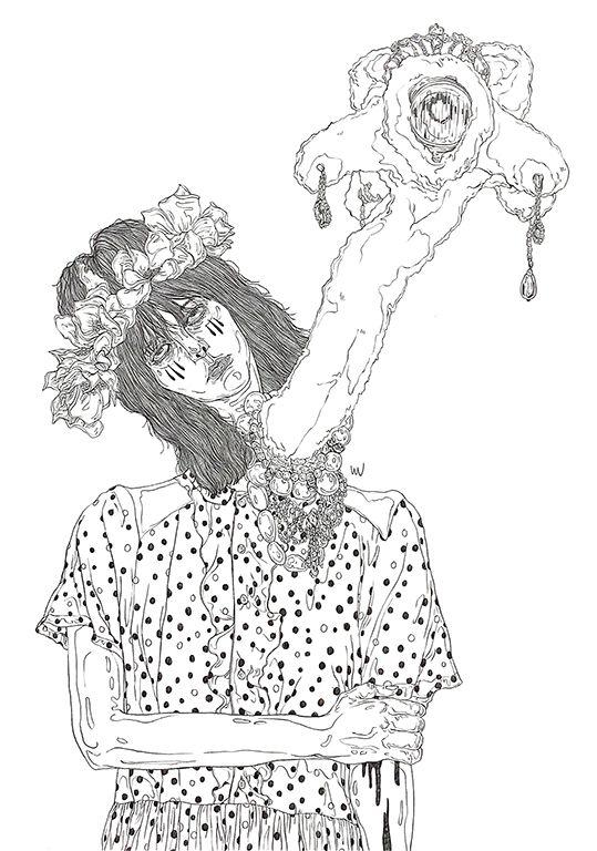 UNDERCOVER - art, artwork, drawing - yulin444   ello