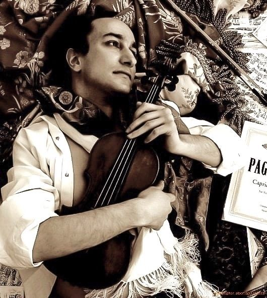 davidyonan, violinist, albertaguilarphotography - lookin2 | ello